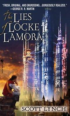 Traditional Fantasy Book - The Lies of Locke Lamora
