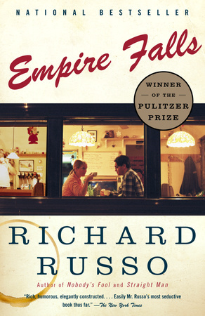 EMPIRE FALLS by Richard Russo is a Literary Fiction Landmark Title on Book Country.