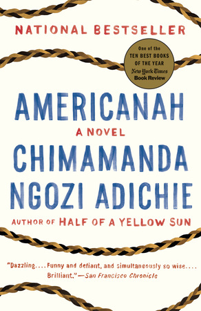 AMERICANAH by Chimimanda Ngozie Adichie is a Literary Fiction Landmark Title on Book Country.