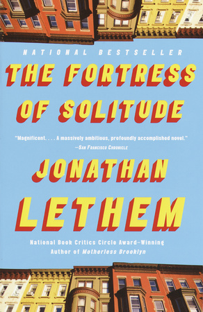 THE FORTRESS OF SOLITUDE by Jonathan Lethem is a Literary Fiction Landmark Title on Book Country.