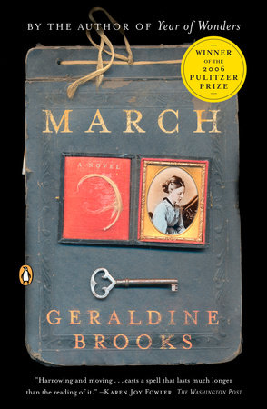 MARCH by Geraldine Brooks is a Landmark War Fiction Title on Book Country.