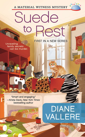 SUEDE TO REST by Diane Vallere is a Cozy Mystery Landmark Title on Book Country.