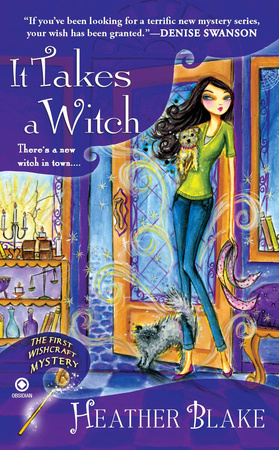 IT TAKES A WITCH by Heather Blake is a Mystery Landmark Title on Book Country.