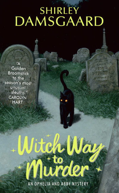 WITCH WAY TO MURDER by Shirley Damsgard is a Mystery Landmark Title on Book Country.