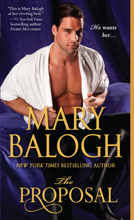 THE PROPOSAL by Mary Balogh is a Landmark Regency Romance Title on Book Country.