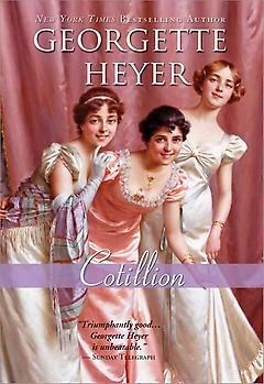 Regency Romance Book - Cotillion