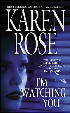 Romantic Suspense Book - I'm Watching You