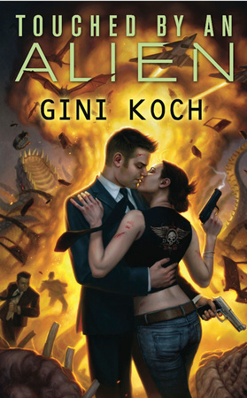 TOUCHED BY AN ALIEN by Gini Koch is a Landmark Romantic Science Fiction Title on Book Country.