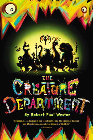 THE CREATURE DEPARTMENT by Robert Paul Weston is a Landmark Middle Grade Title on Book Country.
