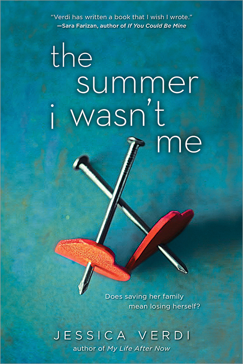 THE SUMMER I WASN'T ME by Jessica Verdi is a Landmark Young Adult Title on Book Country.