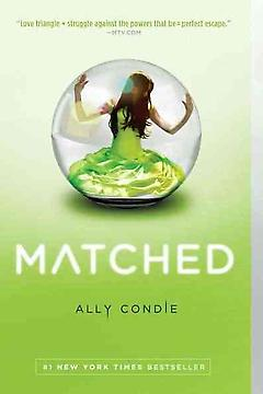 Young Adult Science Fiction/Dystopian Book – Matched